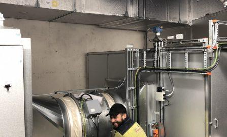 Equinor Mongstad riving av 4 ventilasjonsanlegg og montering av 2 nye luftbehandlingsanlegg og kanalnett i teknisk rom