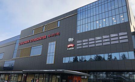 Lagunen Storsenter - Vestbygget Montering av ventilasjonsanlegg og kanalnett til butikker