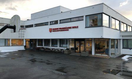 Montering av ventilasjonsanlegg til administrasjon, klasserom og gymsal, Knarvik vgs