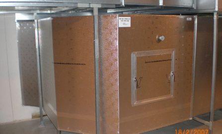 Bergen Storsenter, utskifting av inntakskanaler på eksisterende ventilasjonsanlegg